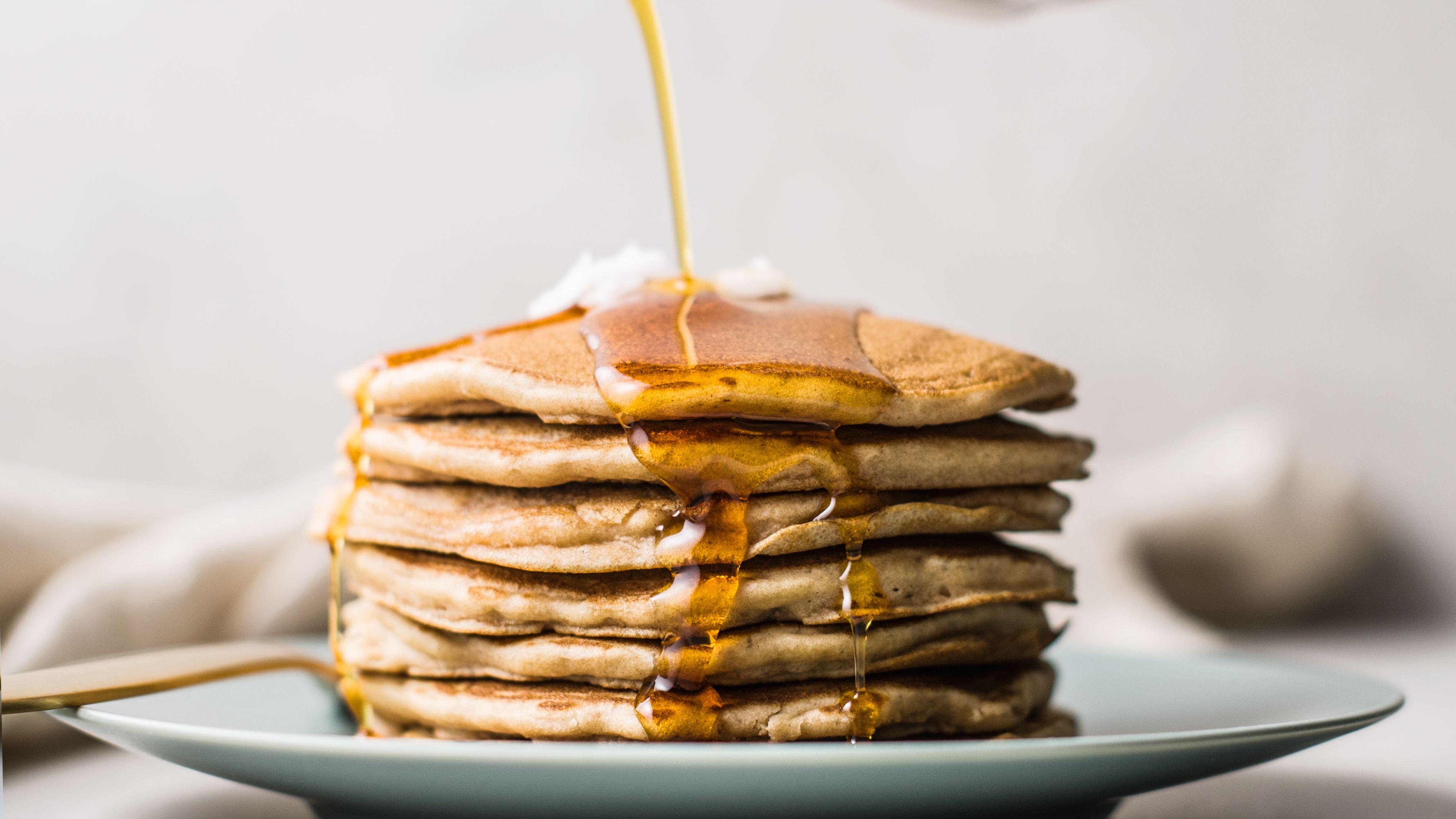 Dairy Free Gluten Free Buckwheat Pancakes Recipe