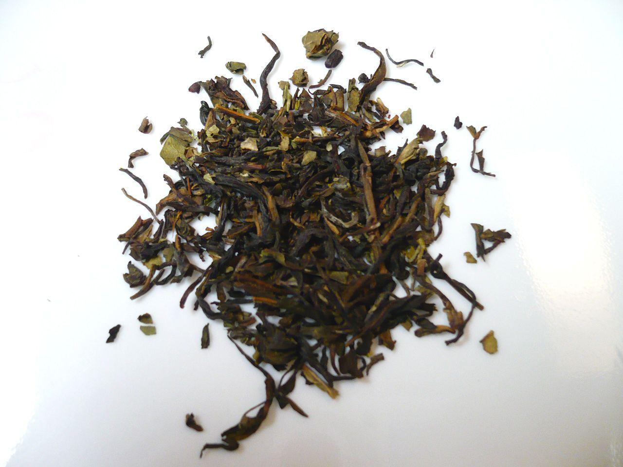 Nilgiri tea leaves