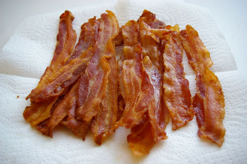 Crispy bacon
