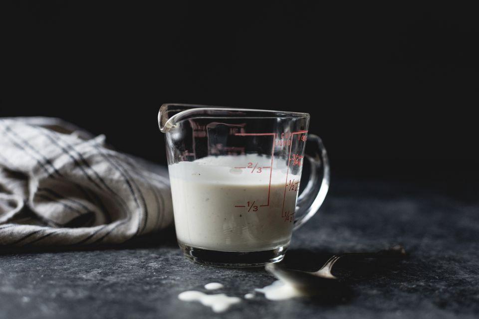 Buttermilk in a jug