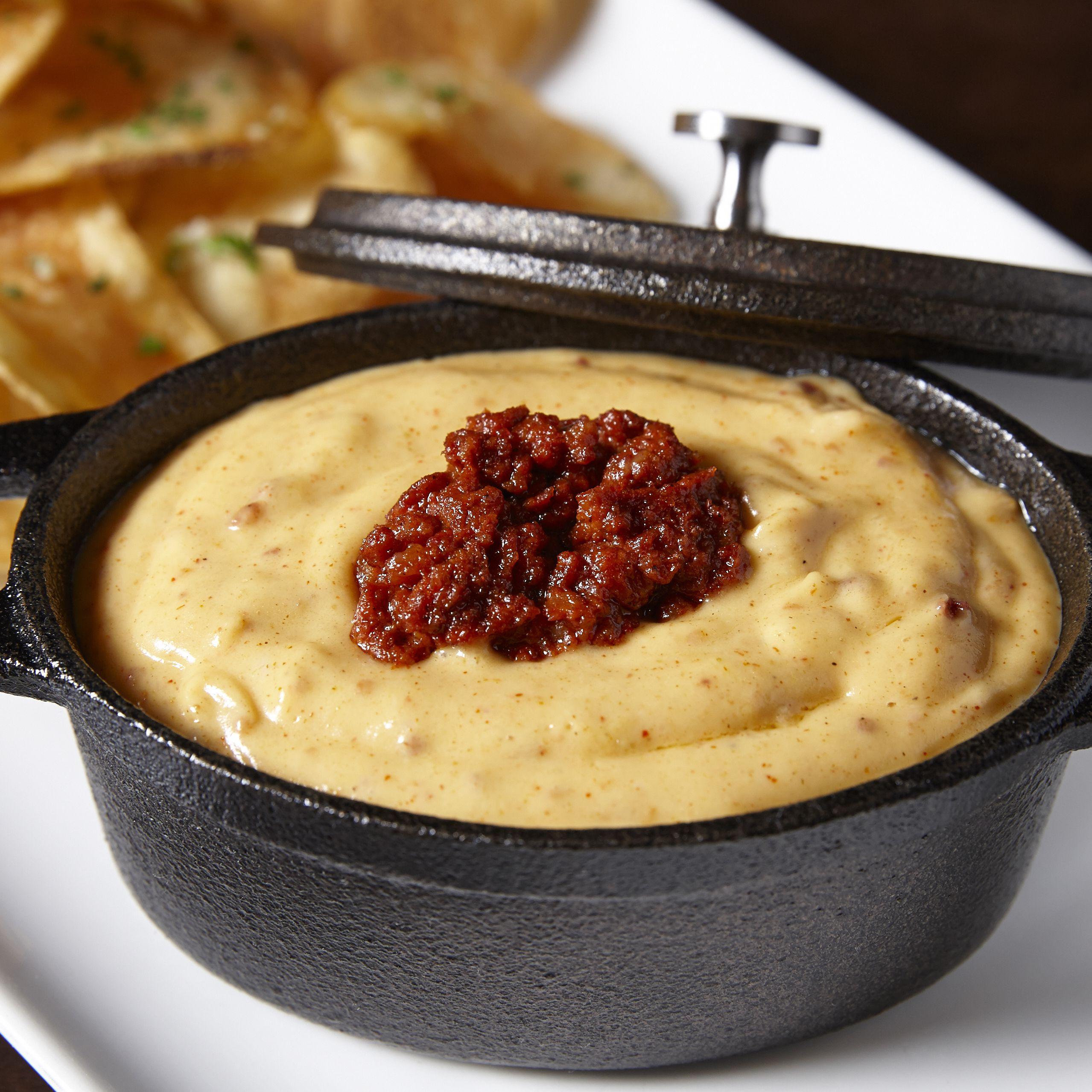 Vegetarian Chili Cheese Dip