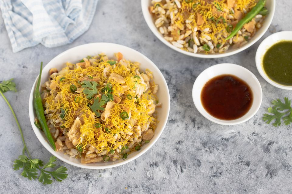 Bhel Puri Puffed Rice Snack