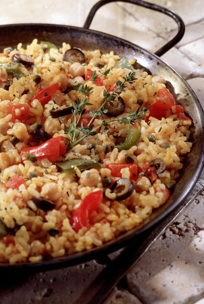 Paella vegetariana (Paella Vegetariana)