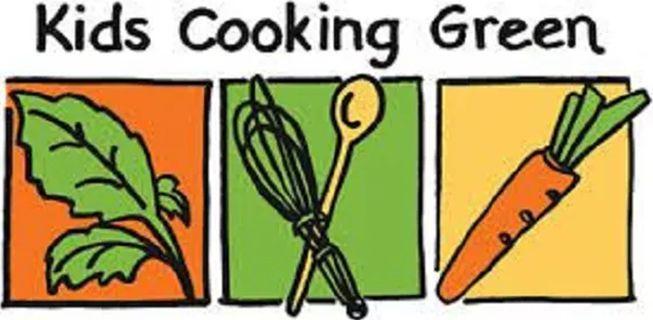 Kids Cooking Green