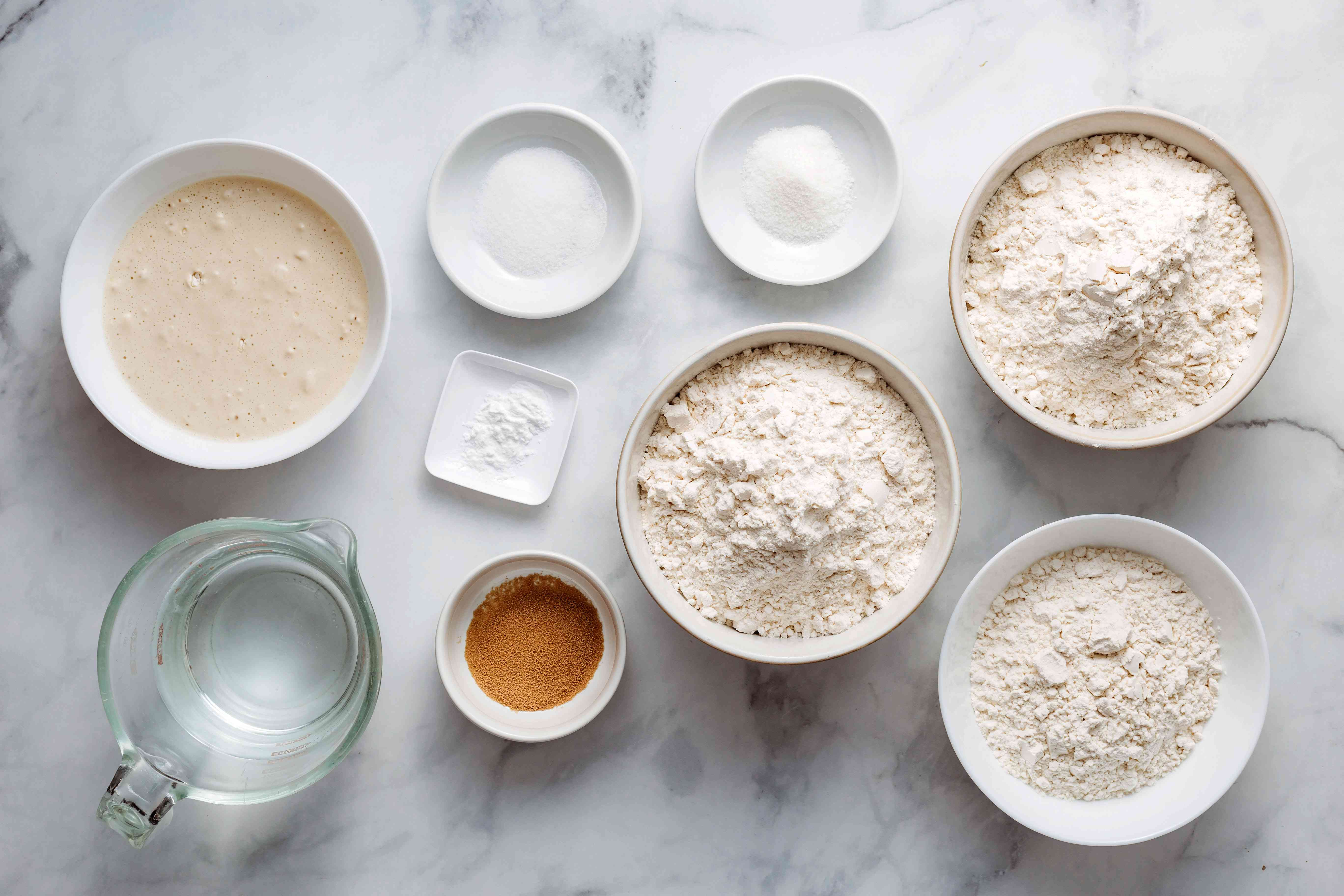 Amish Sourdough Bread ingredients