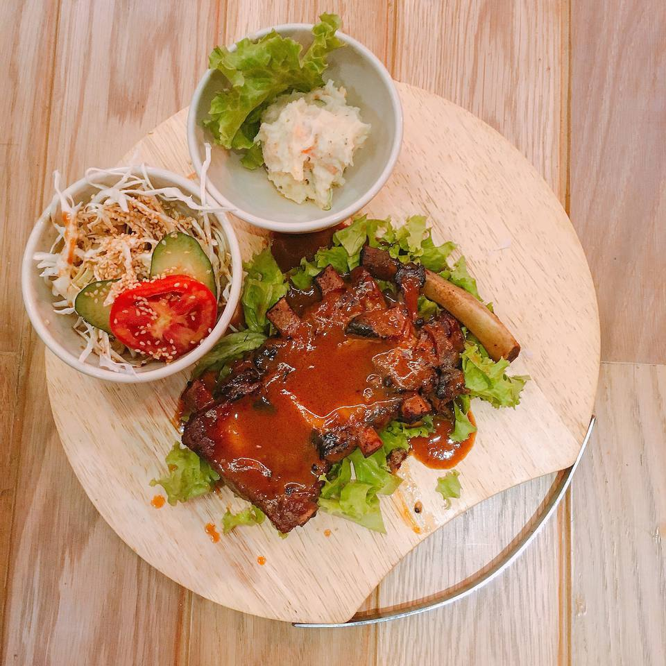 Thai barbecue ribs