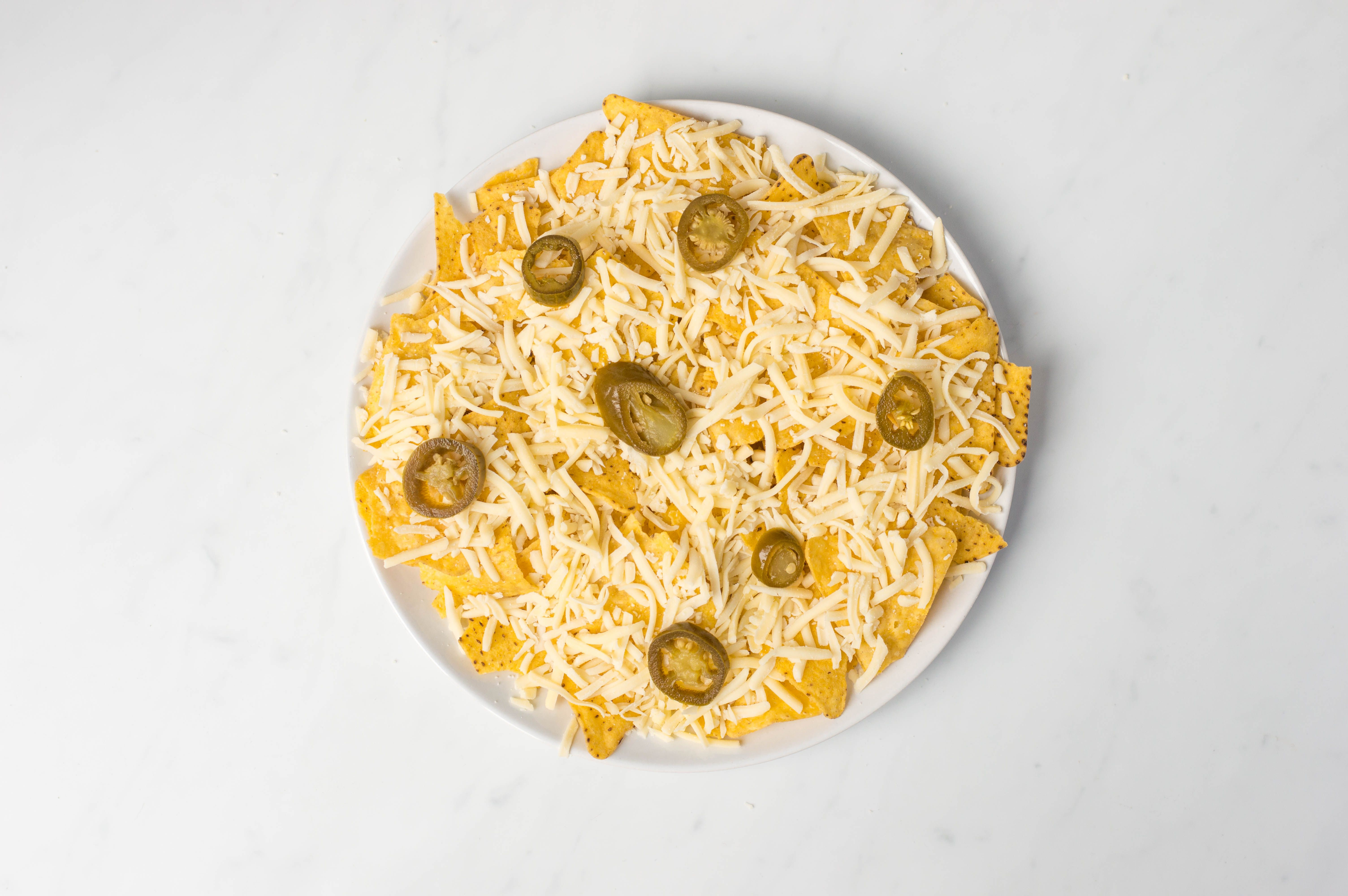 Top with jalapeño slices
