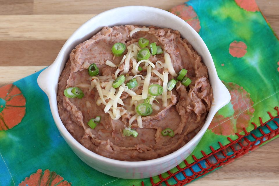 refried beans from the Instant Pot