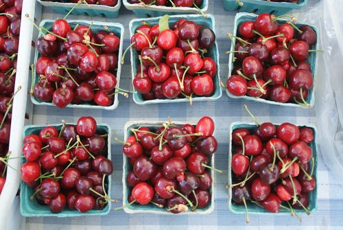 Cherries at Market