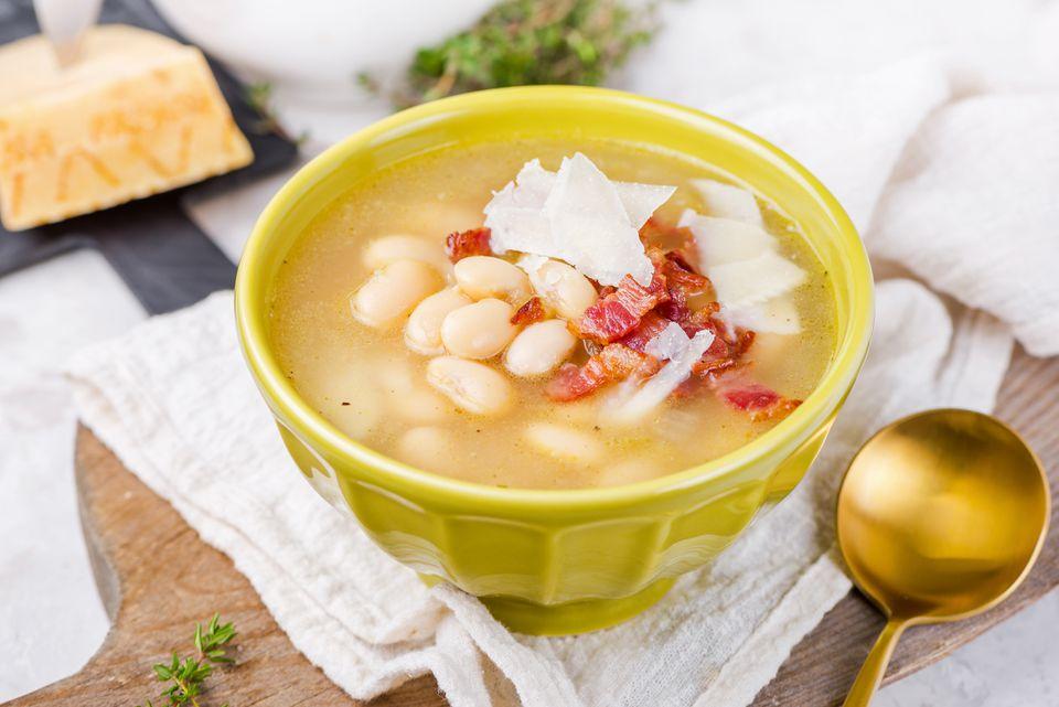 Classic white bean soup