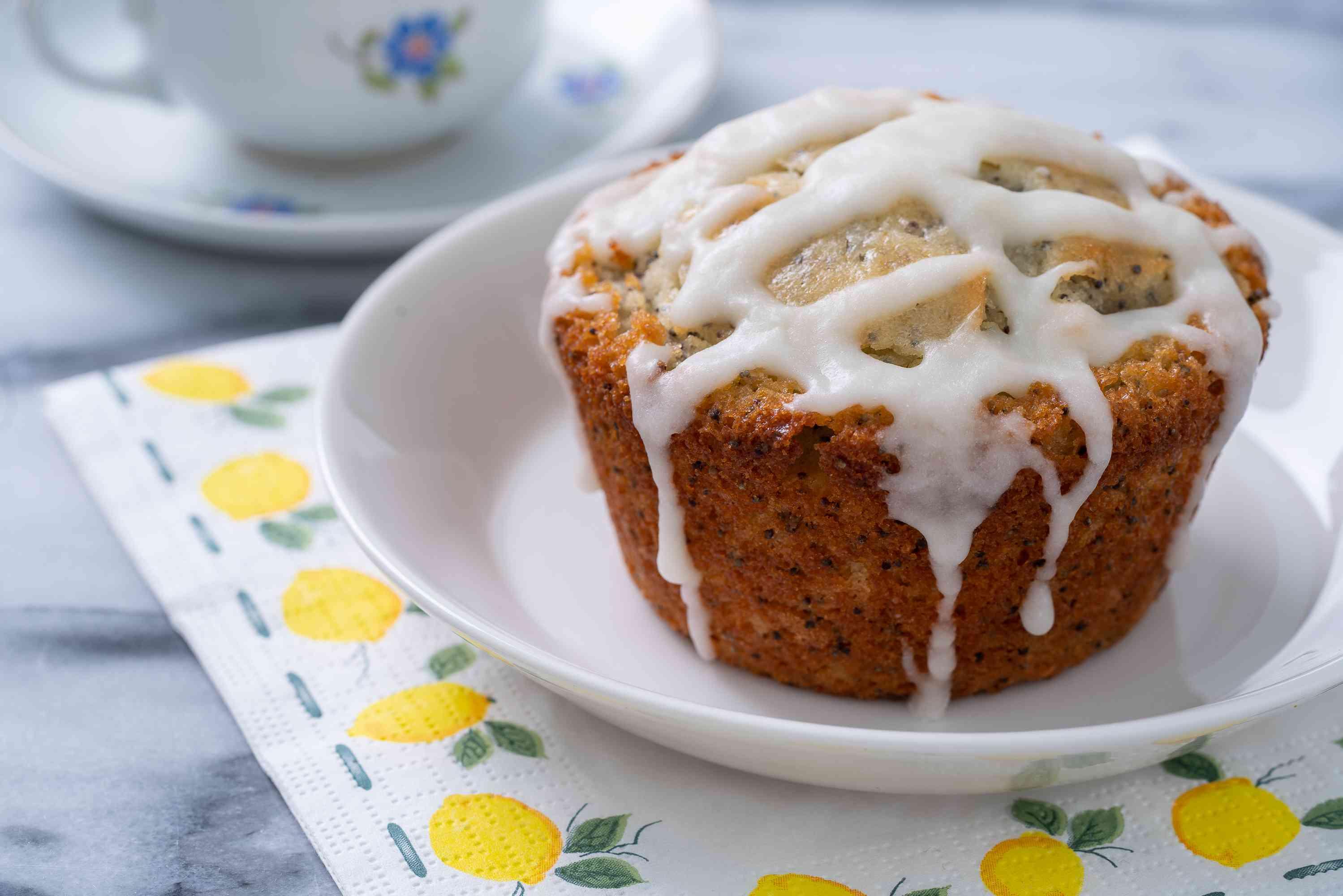 Lemon Poppyseed Muffins