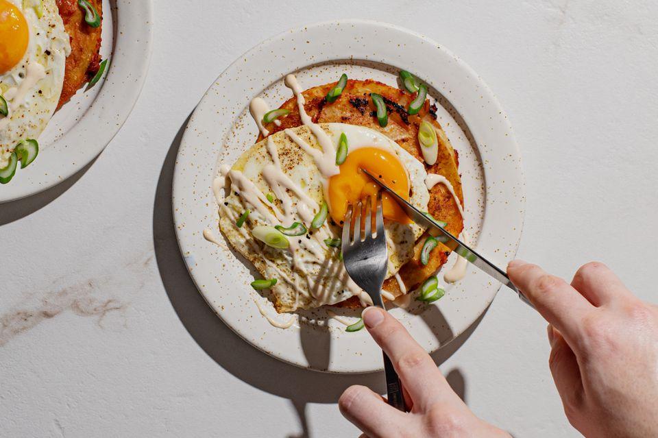 Quesadillas benedict recipe
