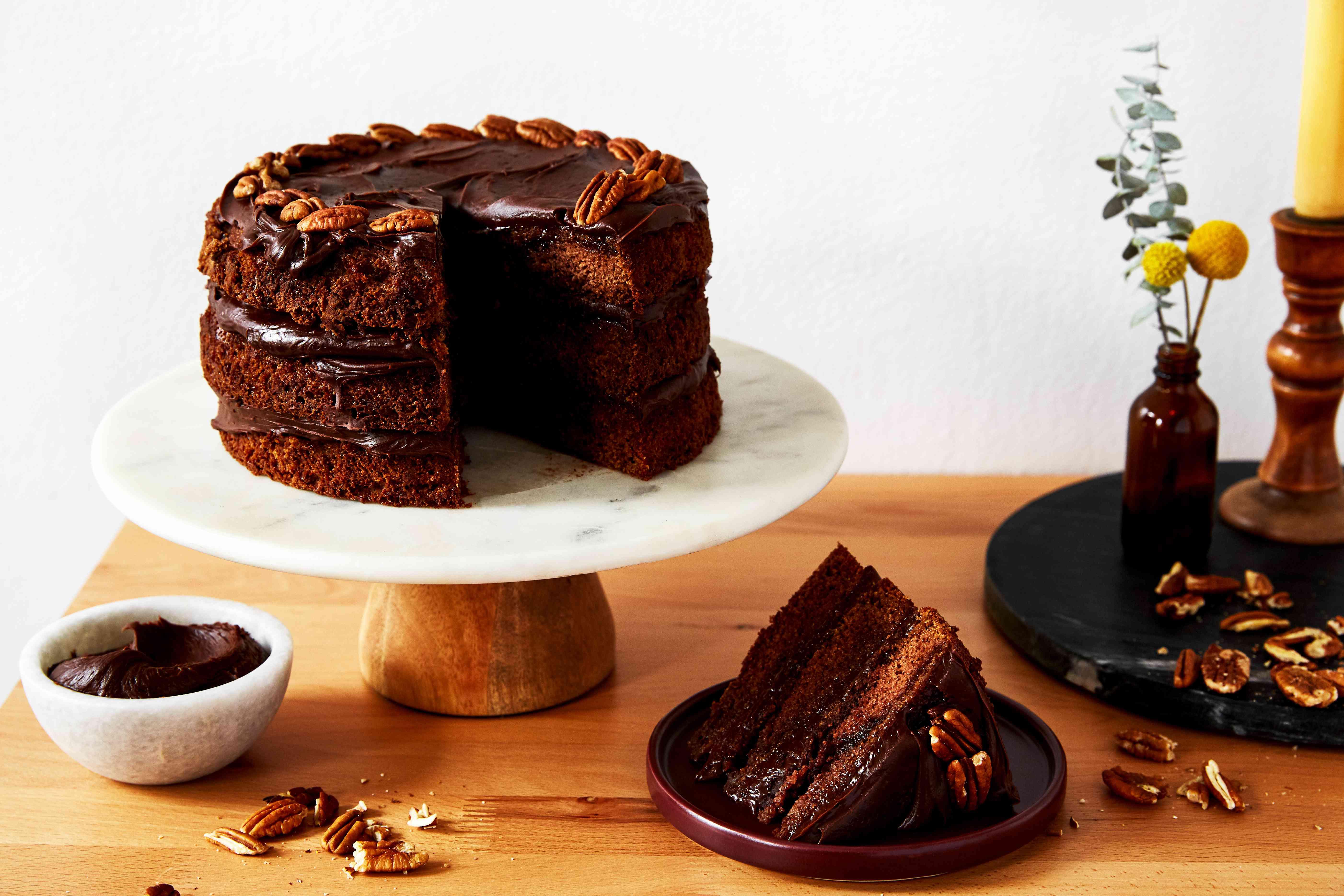 Gluten free German chocolate cake recipe