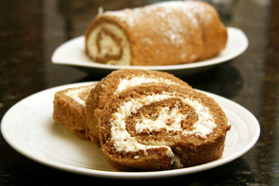 Sweet Potato Cake Roll
