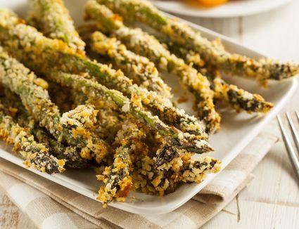 Panko Breaded Asparagus