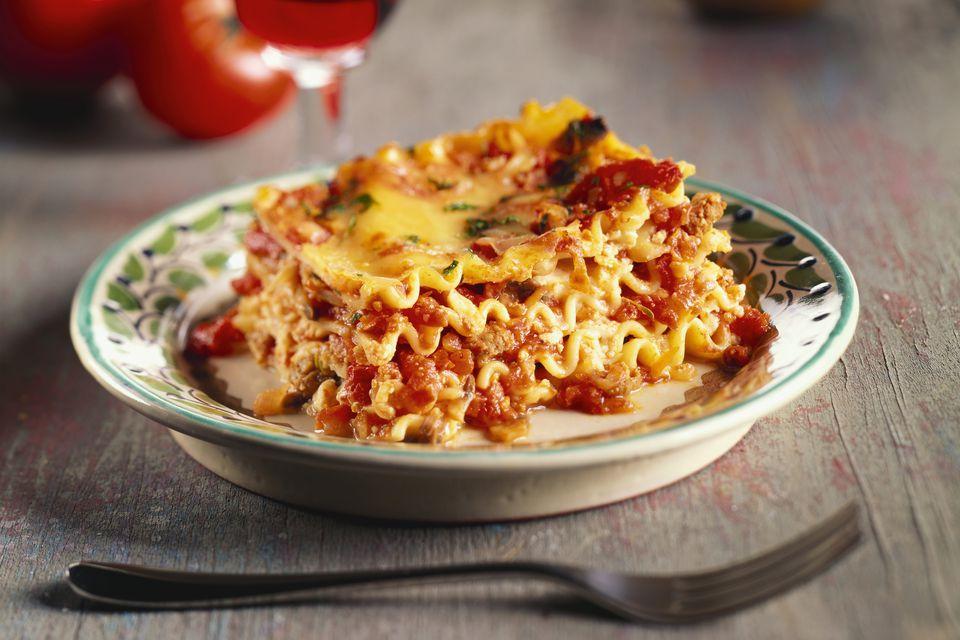 Ness's Crock Pot Lasagna
