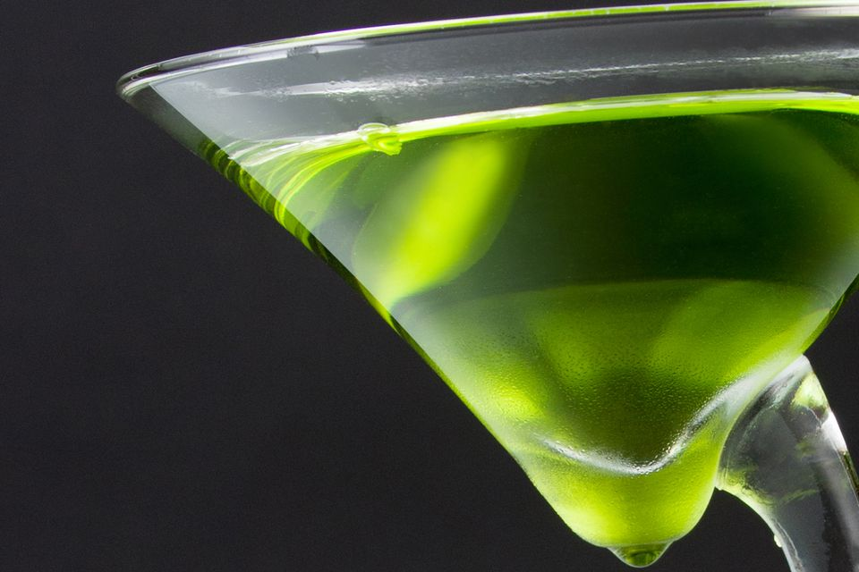 Chartreuse Martini Cocktail