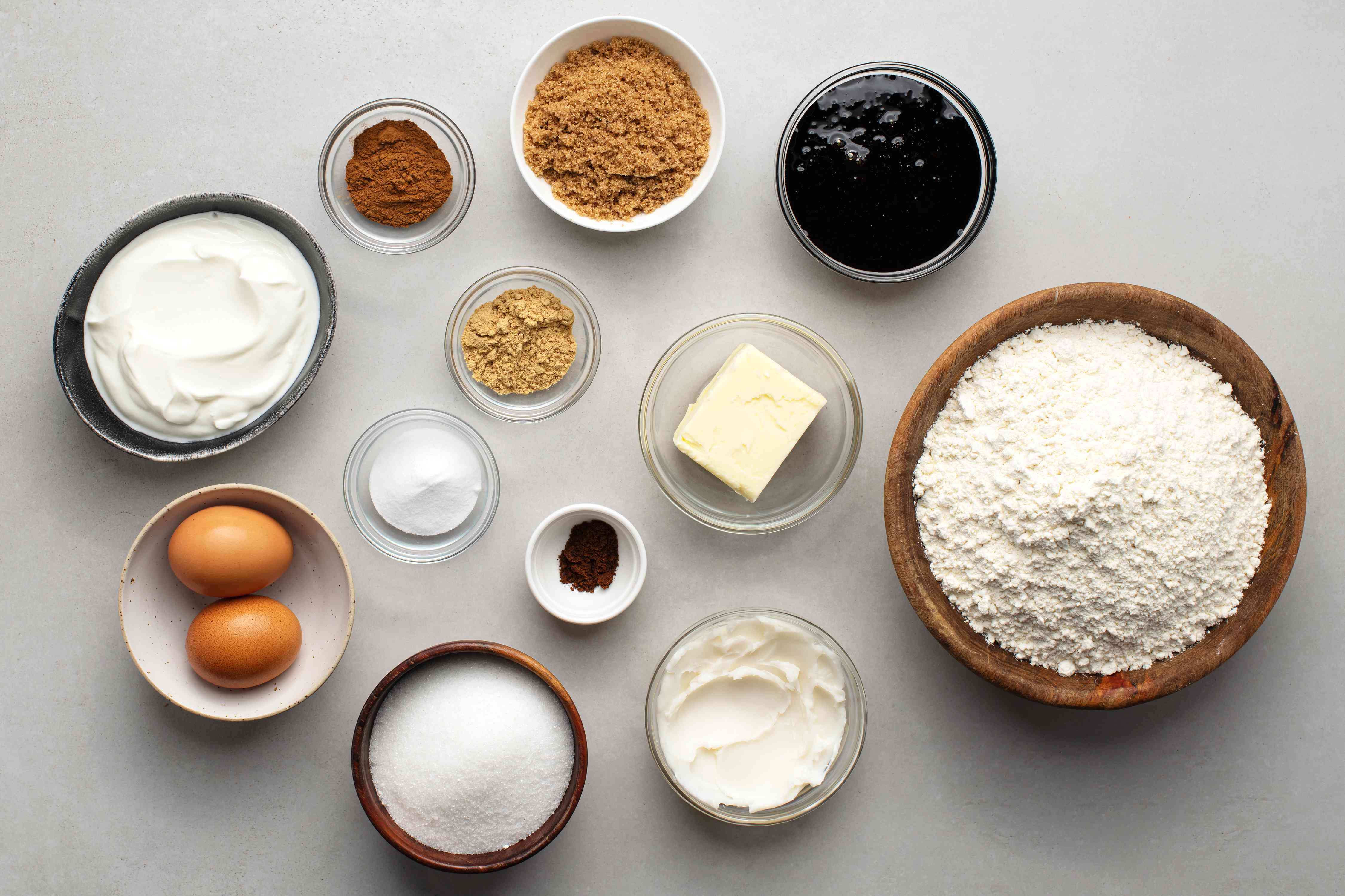 Old-Fashioned Molasses Cookies ingredients