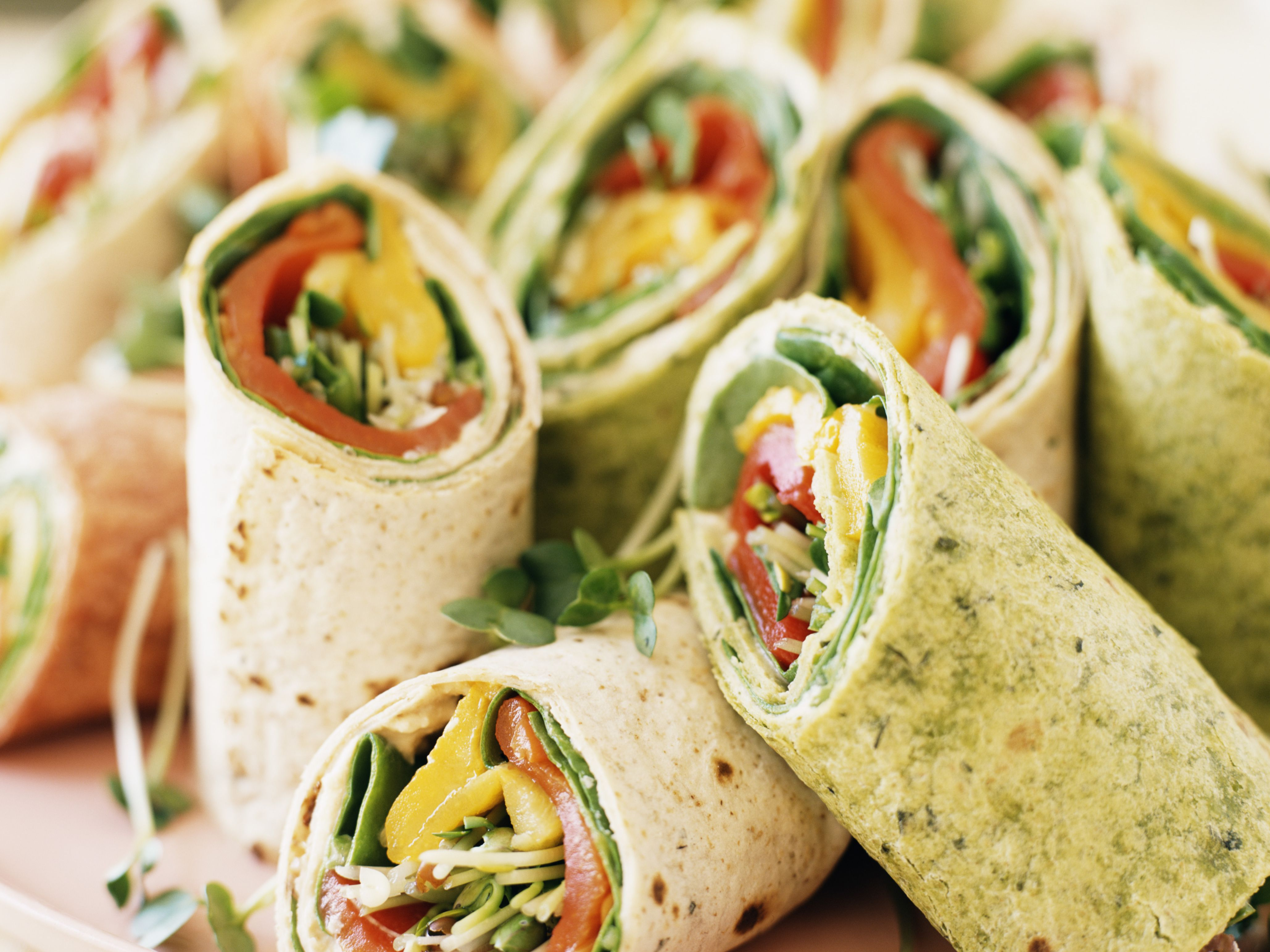 Wonderbaar Vegan Cream Cheese Veggie Wraps Recipe UP-38