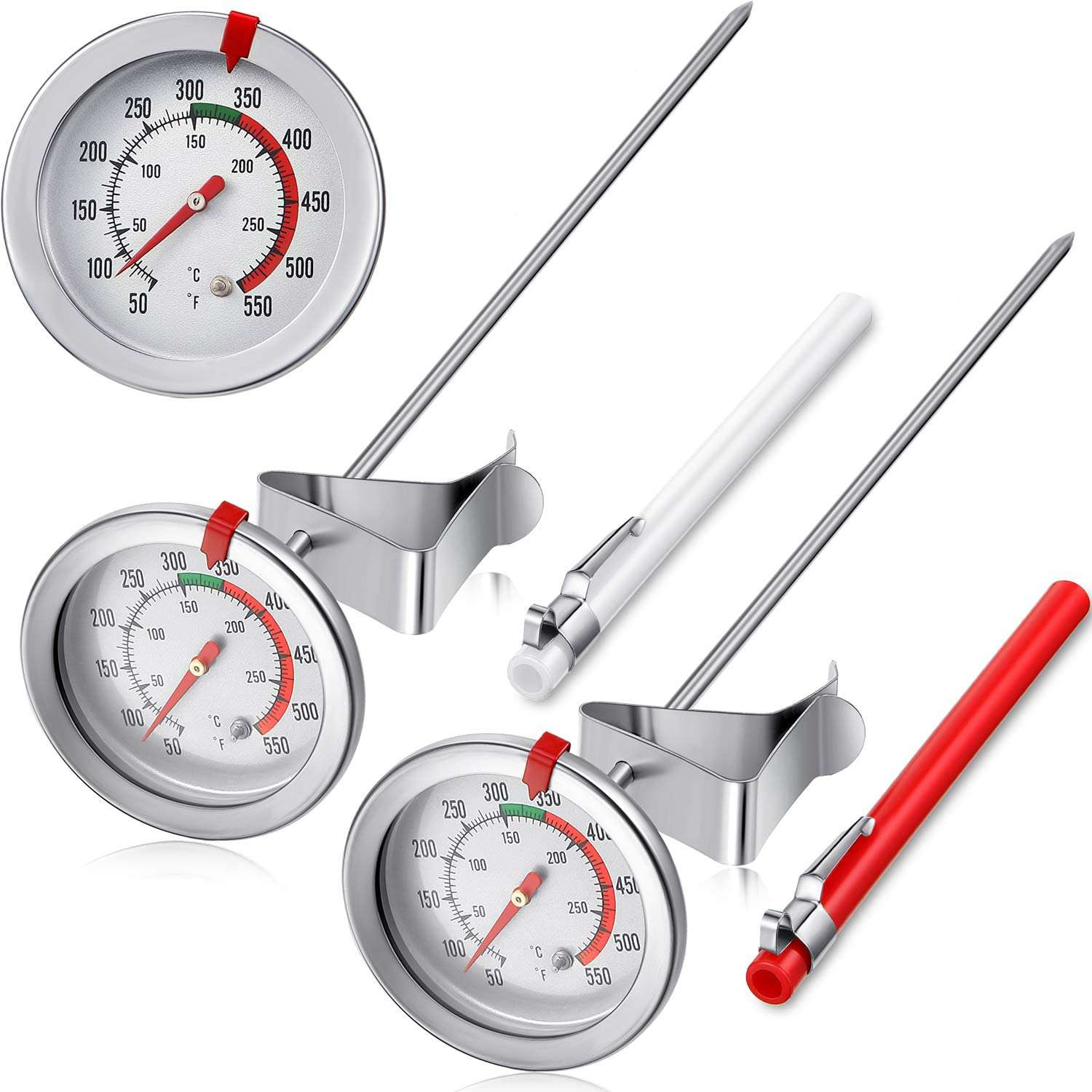 Frienda 11.8 Inch Stainless Steel Instant Read Thermometer