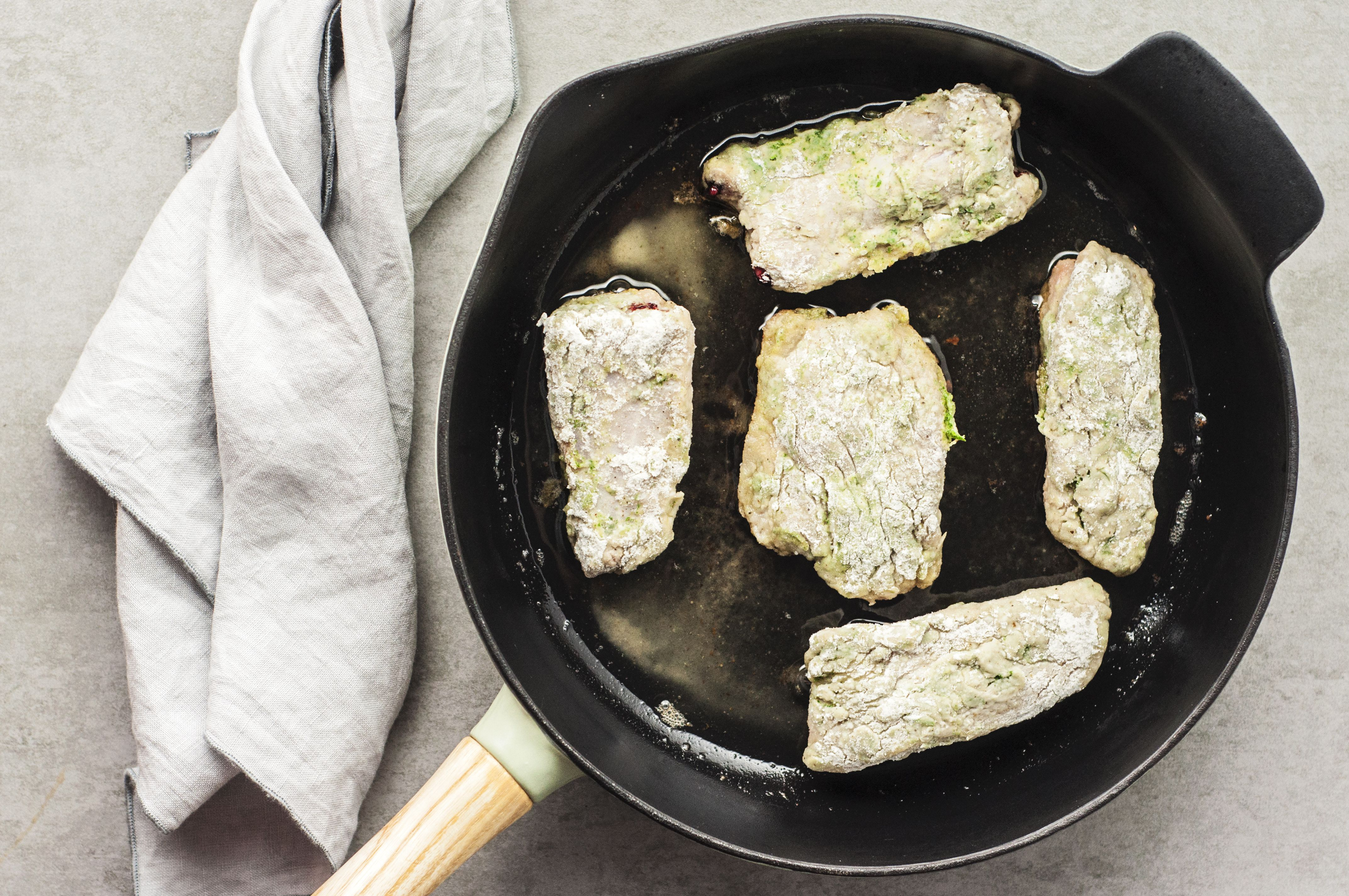 how to cook pork spare ribs in fry pan