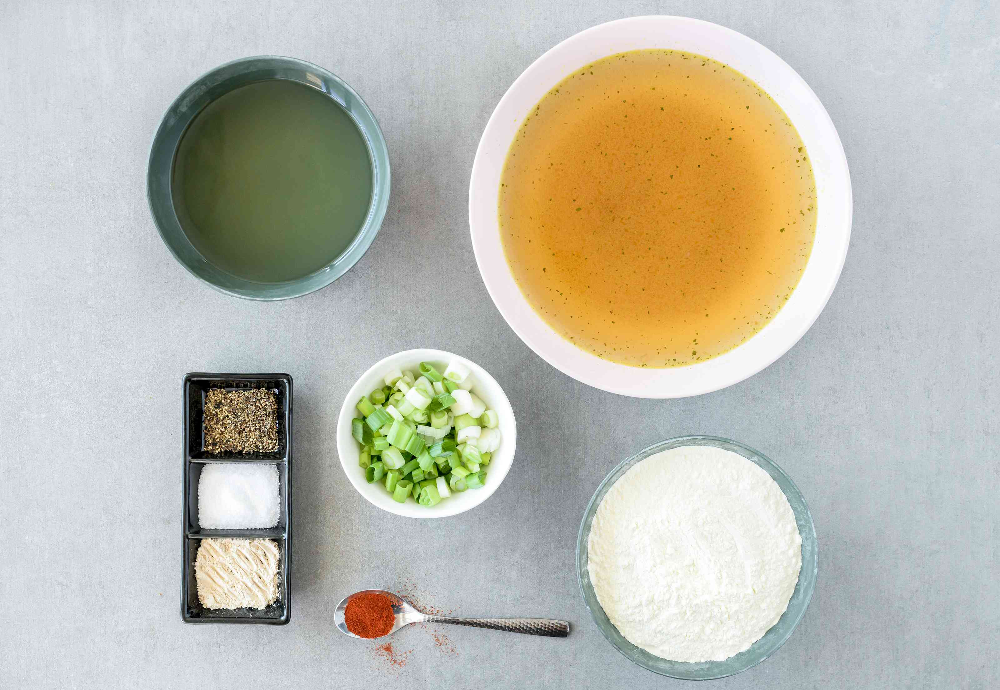 Ingredients for gravy without drippings