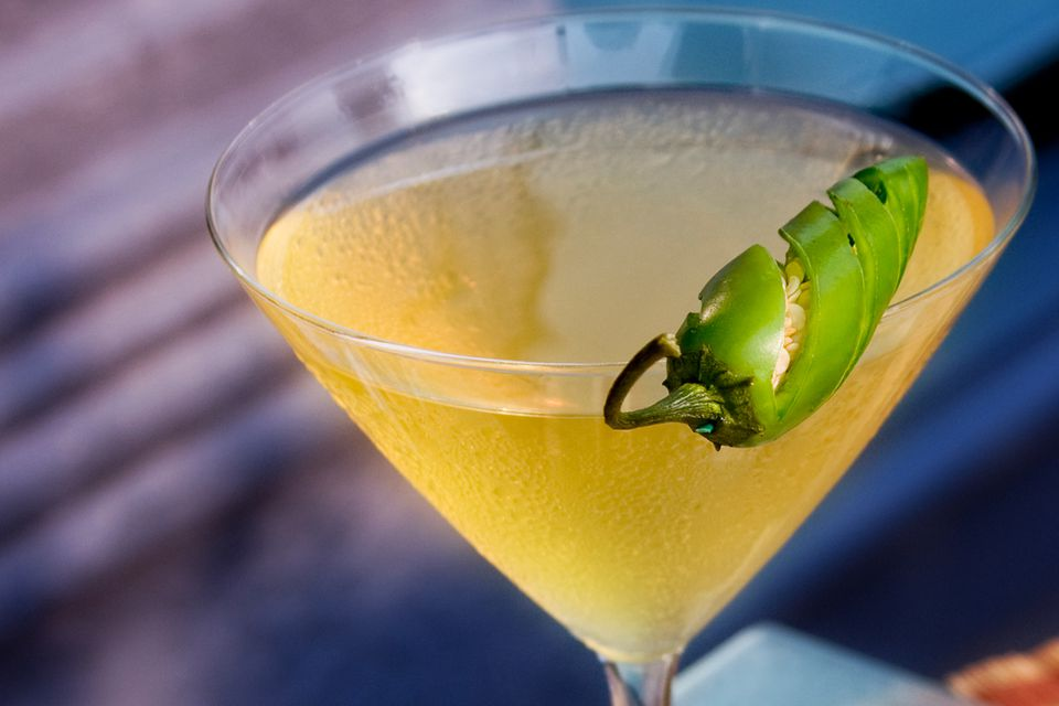 Spicy Jalapeño Margarita Cocktail Recipe