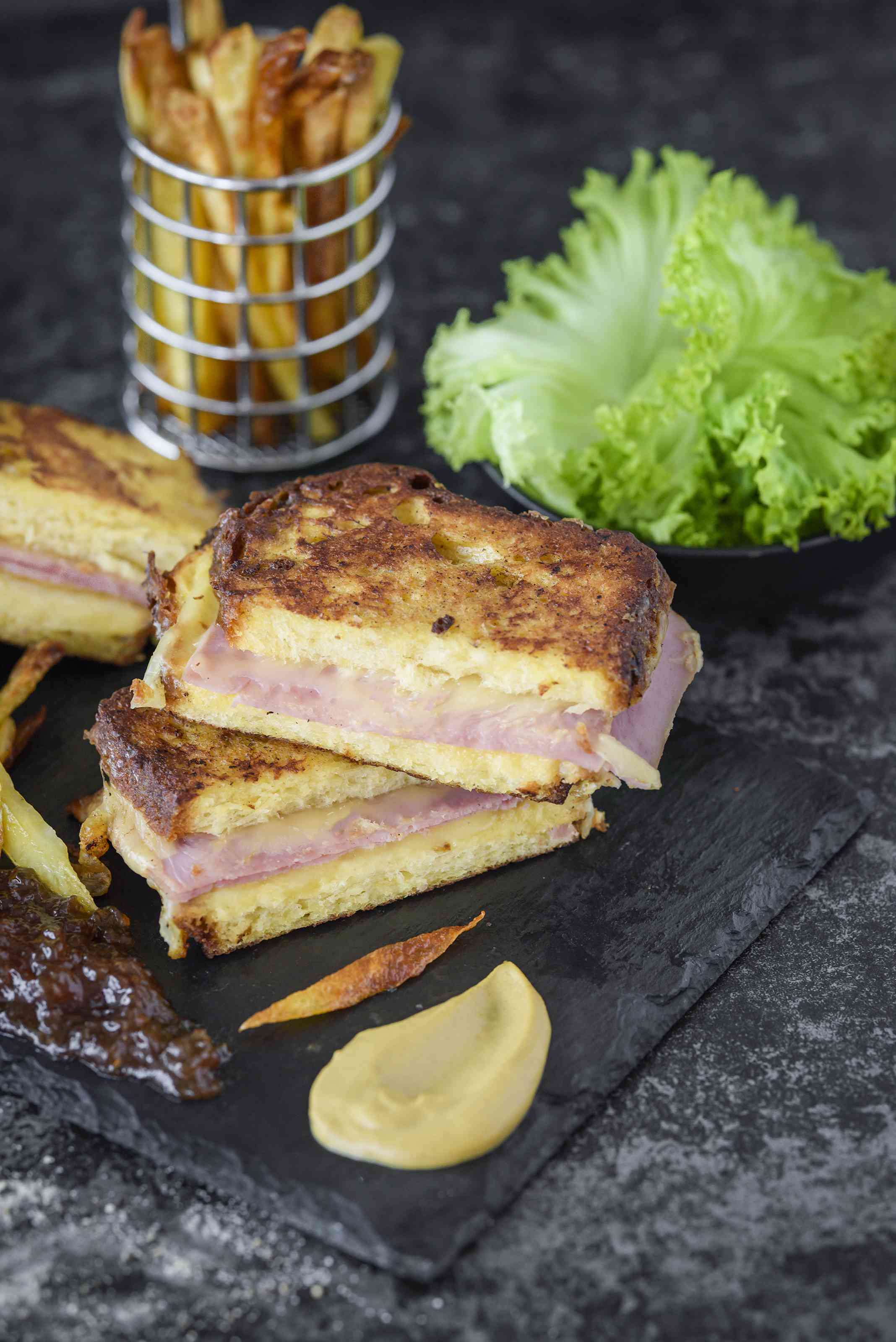 Serve french toast grilled cheese