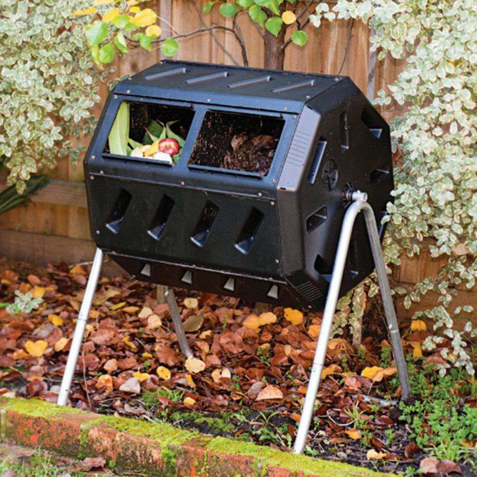 Yimby Tumbler Composter, Color Black - The 7 Best Composters To Buy In 2019