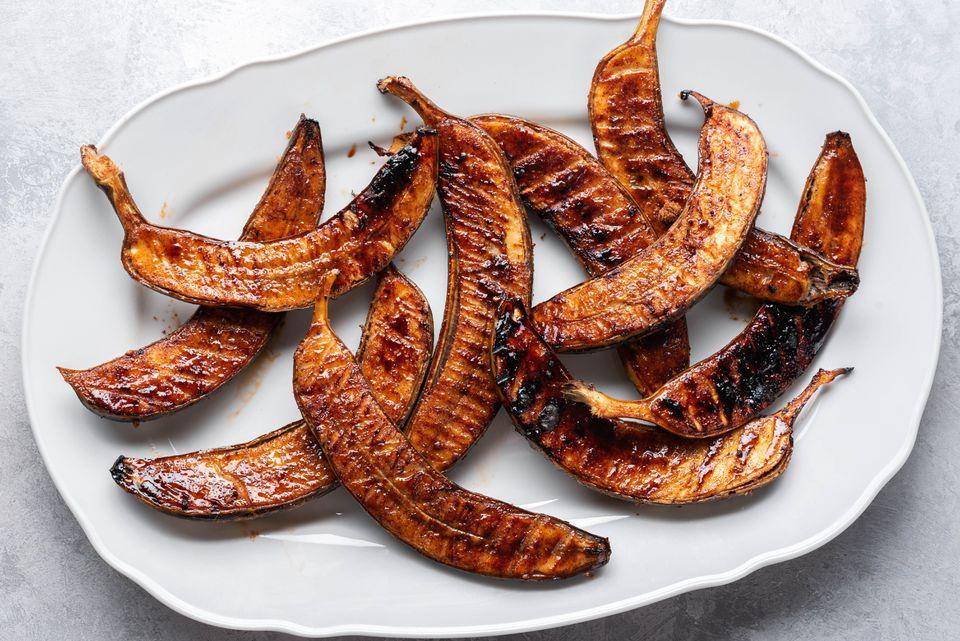 Grilled Brown Sugar Bananas