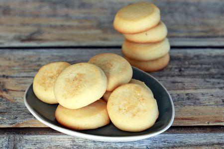 Melt Away Butter Cookies