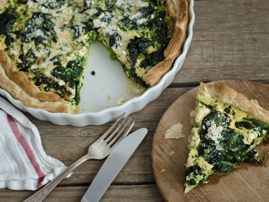 Low Calorie Spinach Quiche Recipe