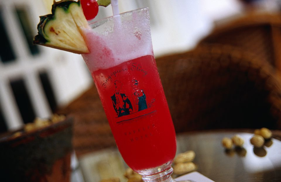 The (in) famous Singapore Sling at Raffles Hotel is still a definite must try.