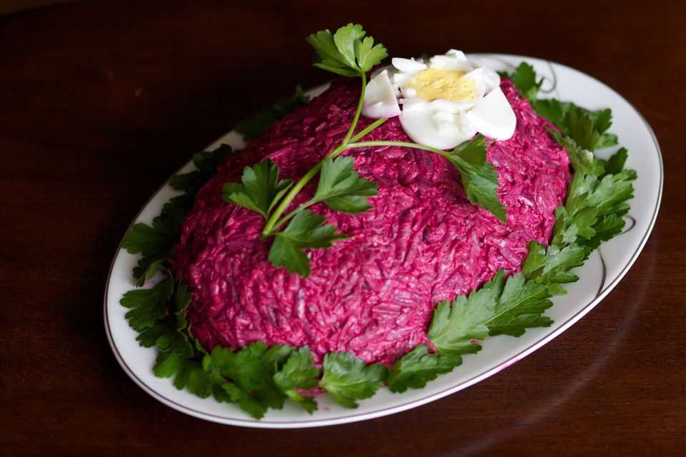 Russian Shuba Salad