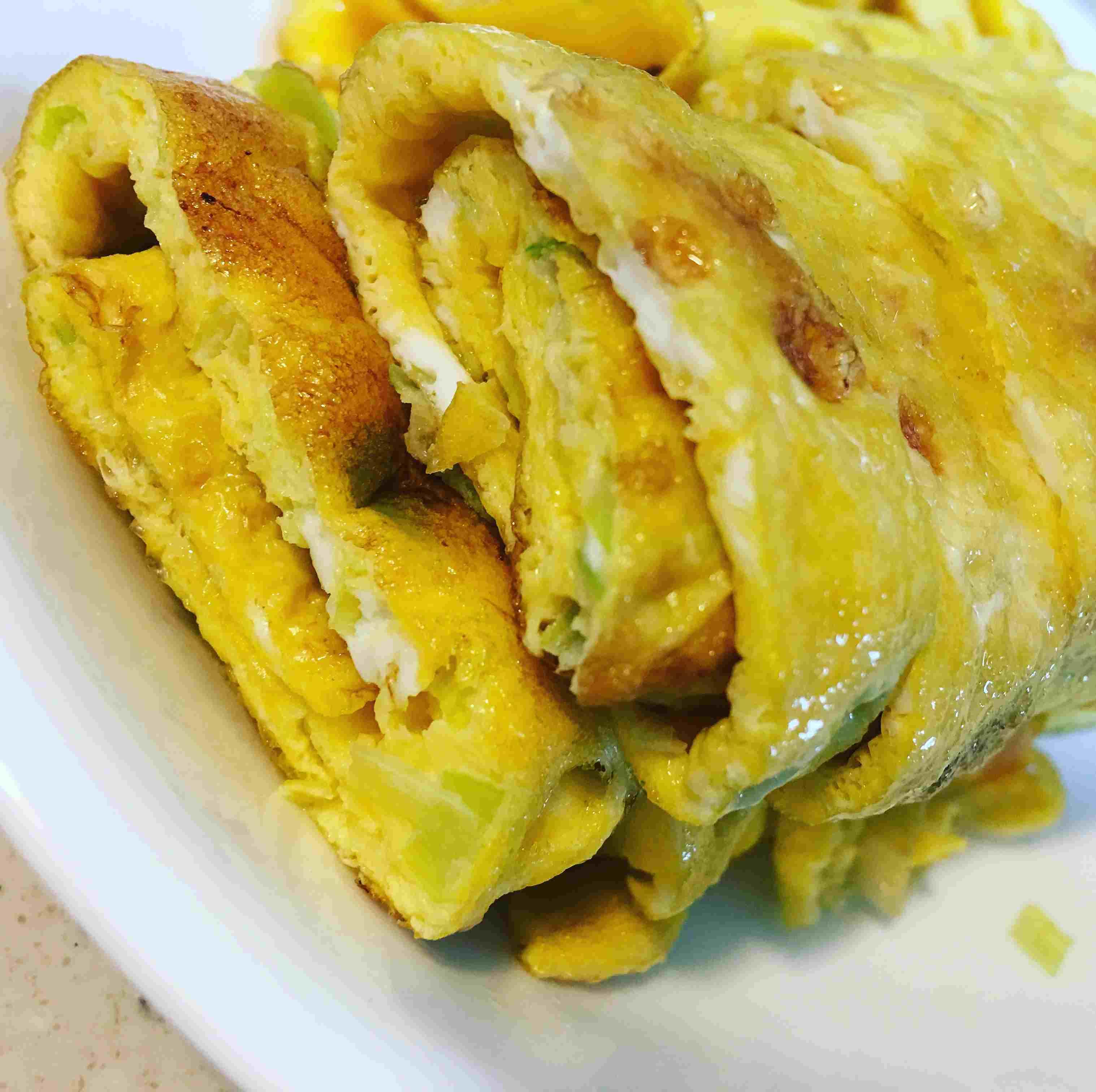 Korean style omelet