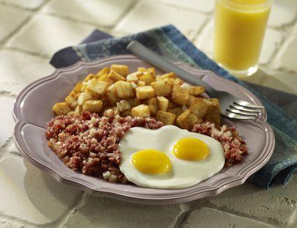 Corned Beef Hash Breakfast