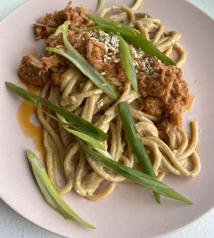 Tuna Dan Dan Noodles