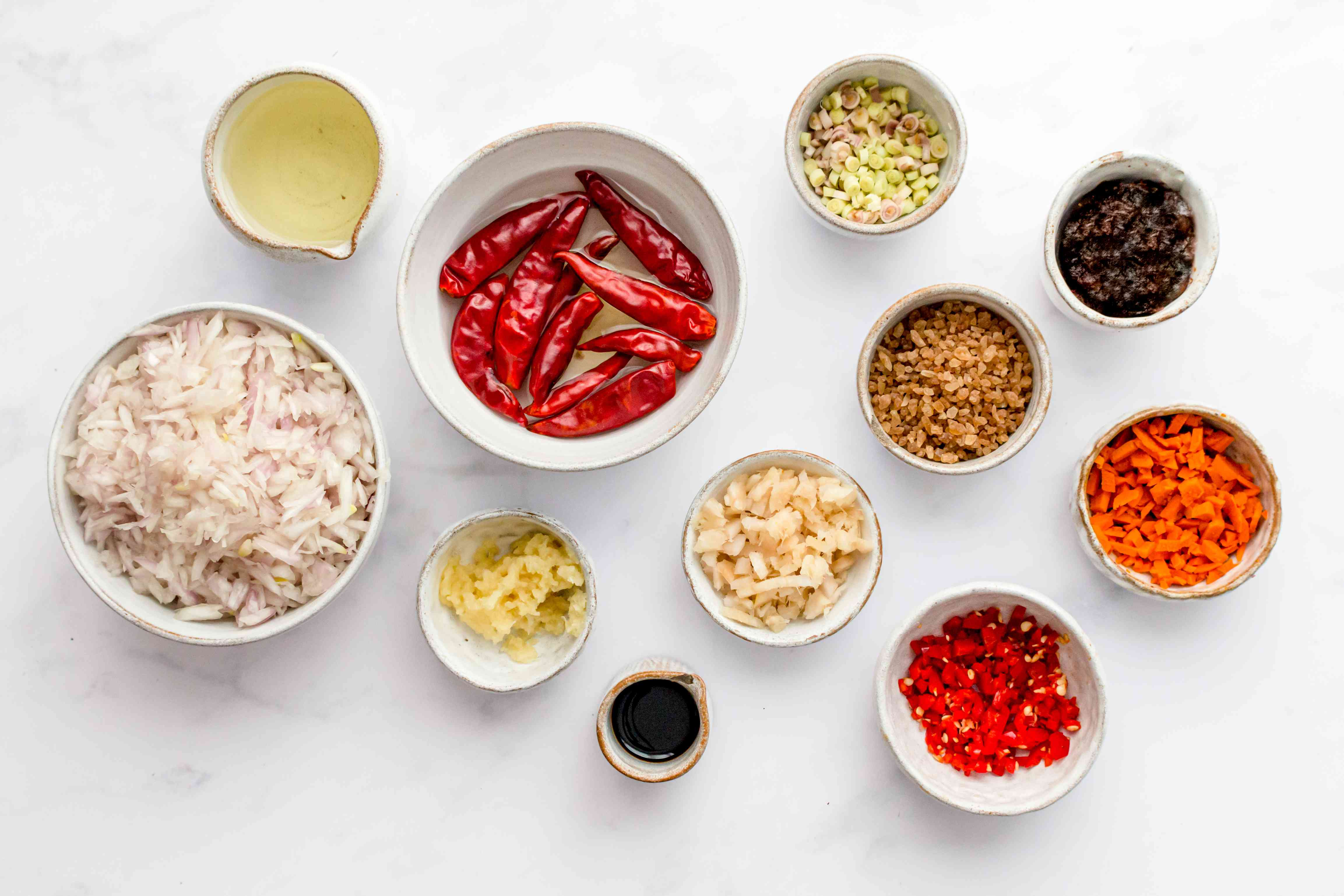 Malaysian sambal sauce ingredients