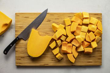 How to peel and cut butternut squash recipe