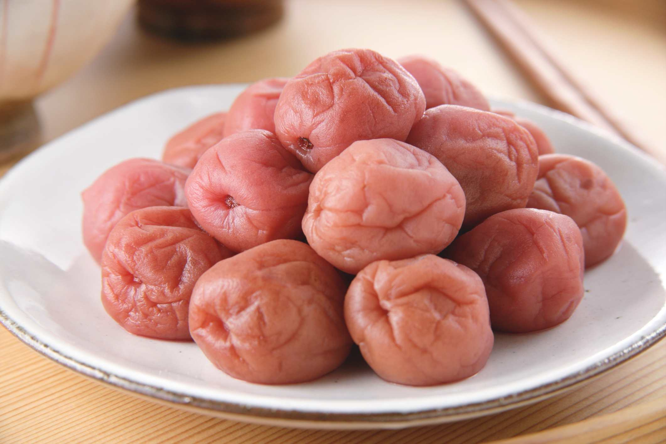Umeboshi (Pickled Plums)