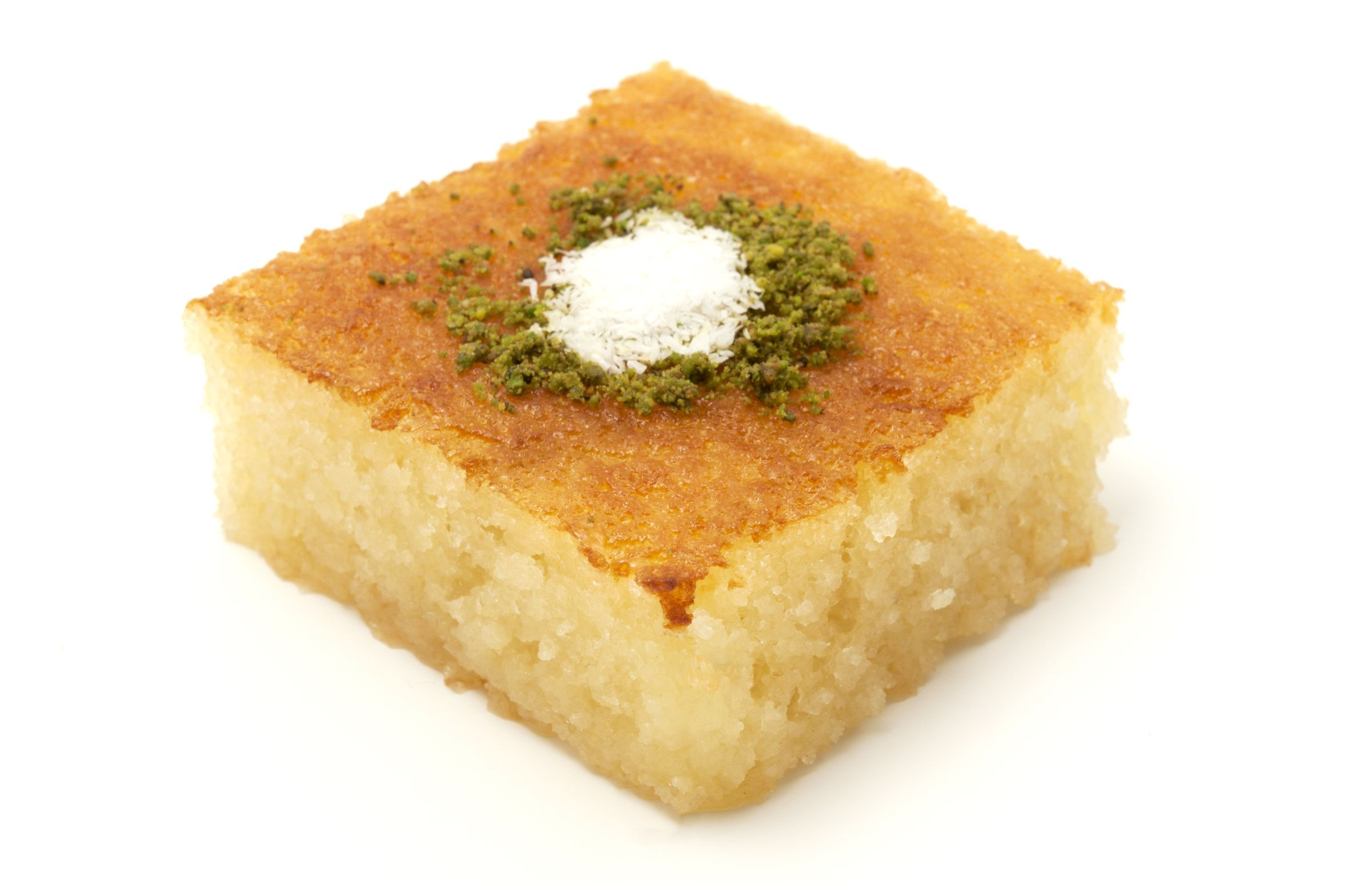 Turkish Revani: Semolina Cake Steeped In Syrup