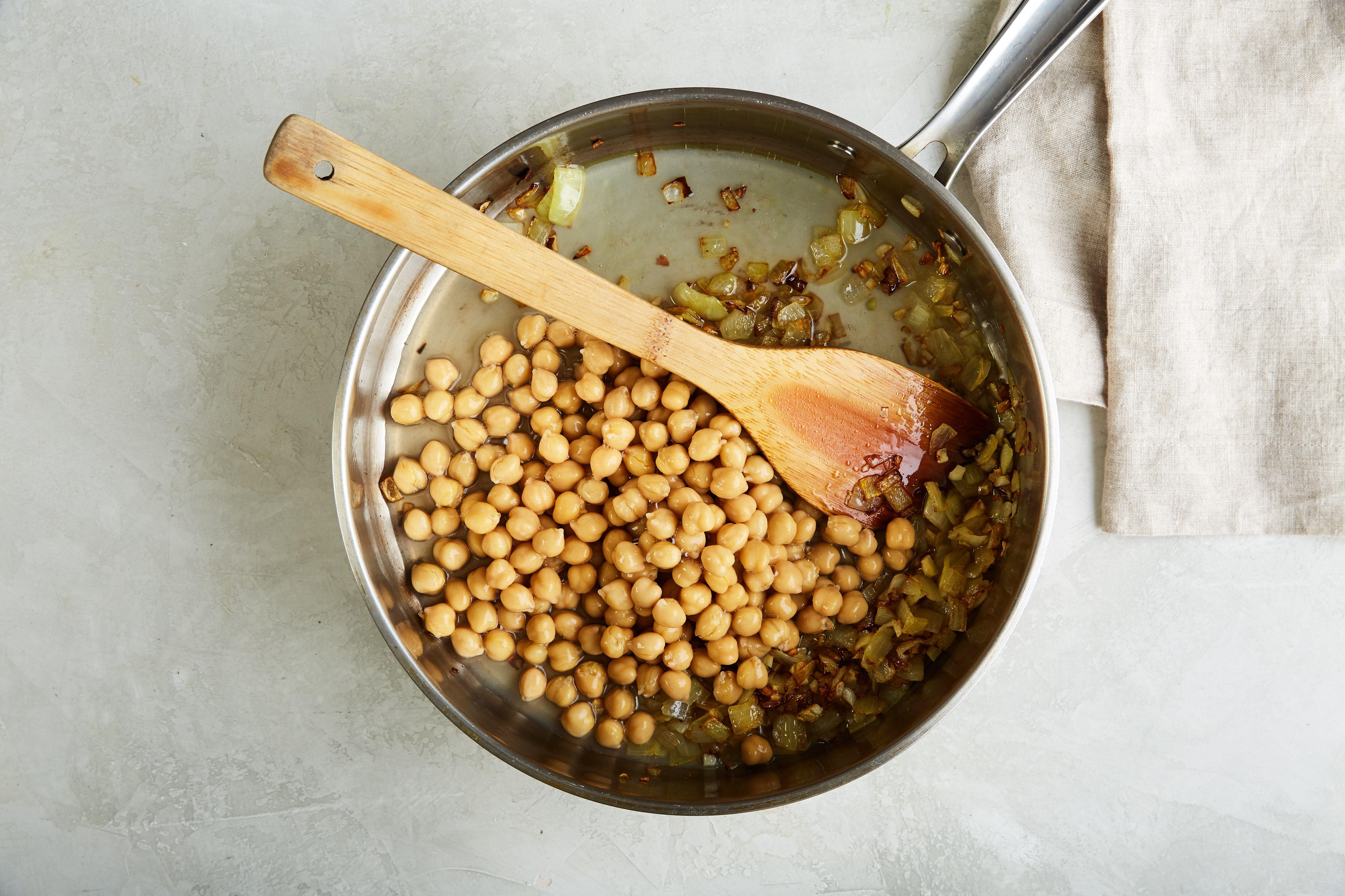 Add chickpeas