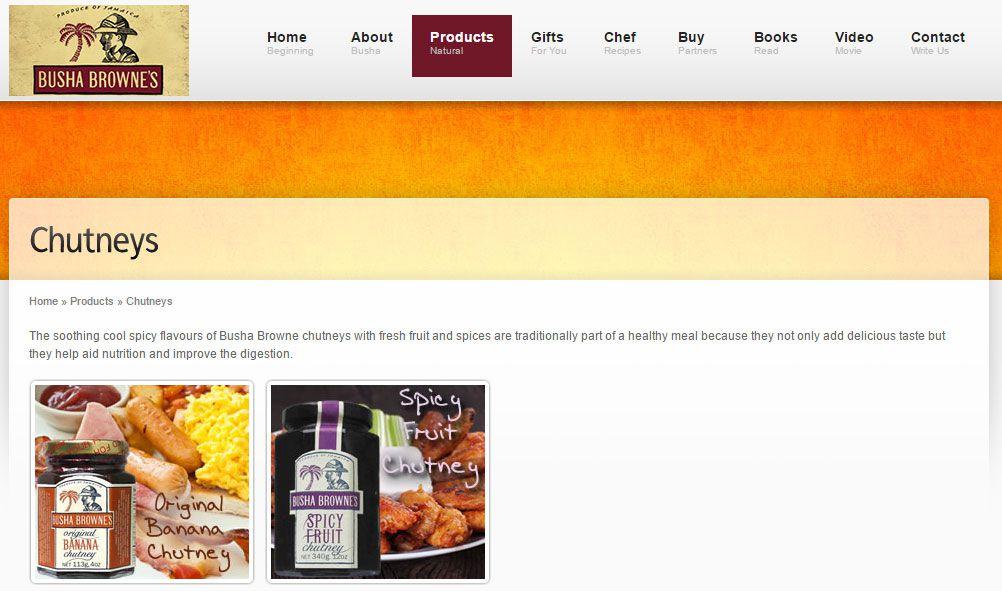 Busha Browne's company website