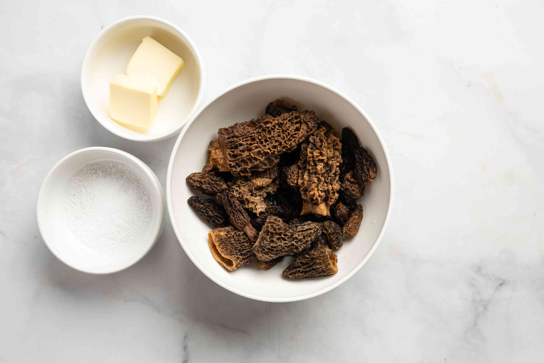Sautéed Morel Mushrooms ingredients