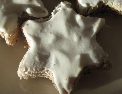 Zimtsterne German Christmas cookies