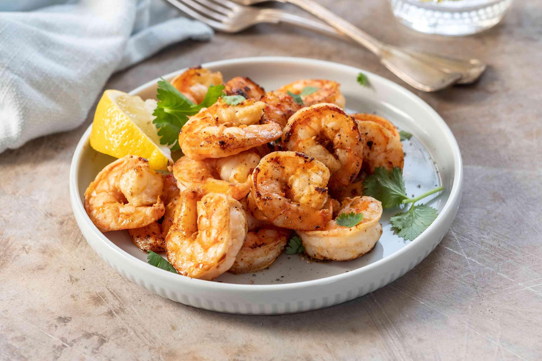 Gilroy Garlic Shrimp with Lemon