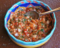 A collection of chilean recipes pebre chilean chile pepper salsa forumfinder Choice Image