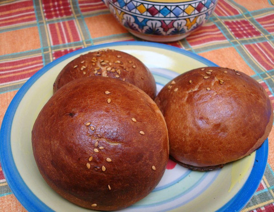 Krachel are Moroccan Sweet Rolls with Anise and Sesame