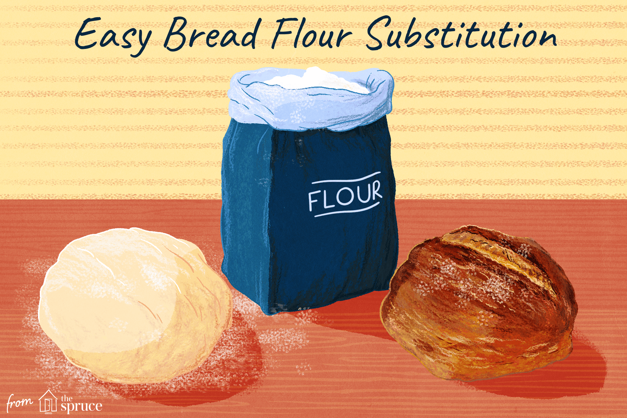 A Substitute for Bread Flour