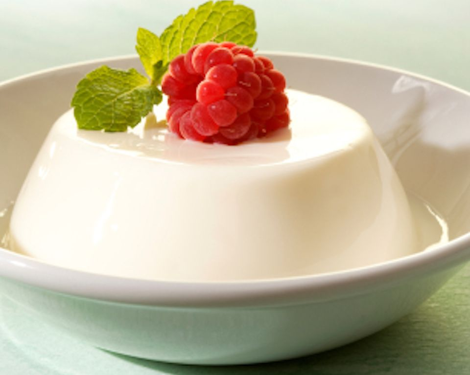 Elderflower Pannacotta